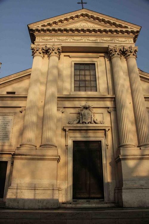 Church of San Rocco, façade, Giuseppe Valadier
