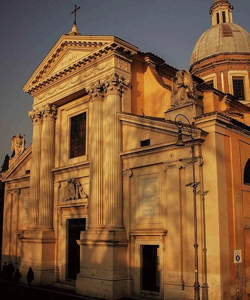 Church of San Rocco, façade