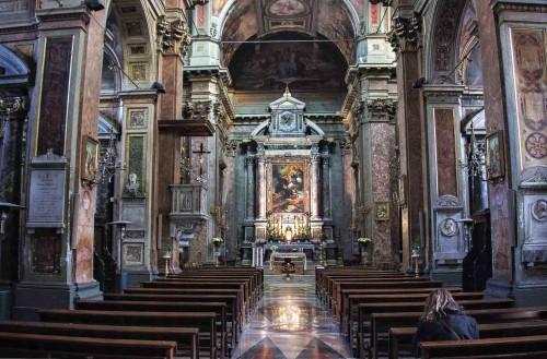 San Rocco, wnętrze kościoła