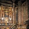 San Rocco, church transept, Madonna della Grazie, XVII century