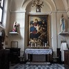 Church of San Rocco, sacristy, Our Lady, St. Rocco and St. Anthony the Abbott, Baciccio