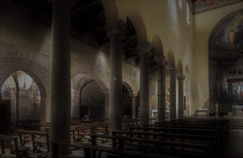 Basilica of San Saba, interior