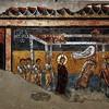 San Saba, korytarz obok zakrystii - fresk Uzdrowienie paralityka