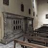 San Saba, pozostałości po schola cantorum