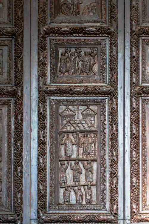 Basilica of Santa Sabina, Cypress door