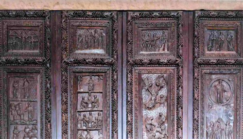 Basilica of Santa Sabina, cypress door from the V century