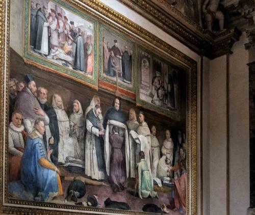 Santa Sabina, freski w kaplicy św. Jacka Odrowąża (San Giacinto), Federico Zuccari