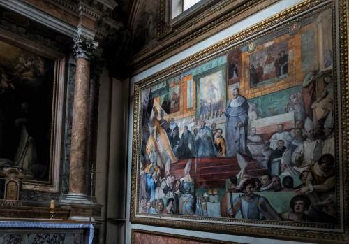 Basilica of Santa Sabina, Chapel of St. Hyacinth (San Giacinto), Federico Zuccari