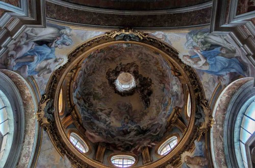 Basilica of Santa Sabina, dome of the Chapel of St. Catherine of Siena
