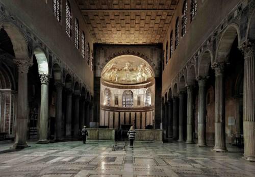 Basilica of Santa Sabina, schola cantorum from the IX century