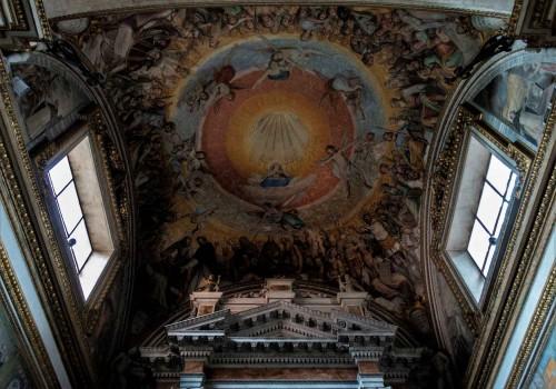 Basilica of Santa Sabina, vault of the Chapel of St. Hyacinth (San Giacinto), Federico Zuccari