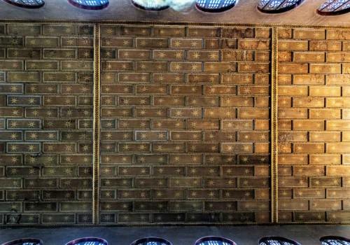 Santa Sabina, strop kościoła  z XX w.