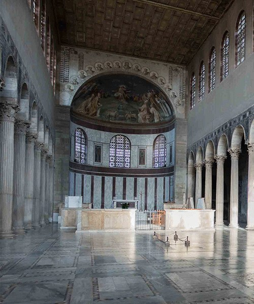 Basilica of Santa Sabina, interior