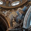 Basilica of Santa Sabina, The Coronation of St. Catherine – pendentives of the dome of the Chapel of St. Catherine of Siena