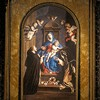 Basilica of Santa Sabina, Our Lady of the Rosary with St. Dominic and St. Catherine, Chapel of St. Catherine of Siena, Sassoferrato