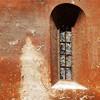 Santa Sabina, okno z płytkami selenitu