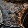Basilica of Santa Sabina, Stigmata of St. Catherine – view of one of the pendentives of the dome of the Chapel of St. Catherine of Siena