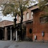 Basilica of Santa Sabina, enterance into the church from Piazza San Pietro d'Illiria