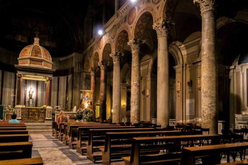 Kościół Sant'Agnese fuori le mura, wnętrze