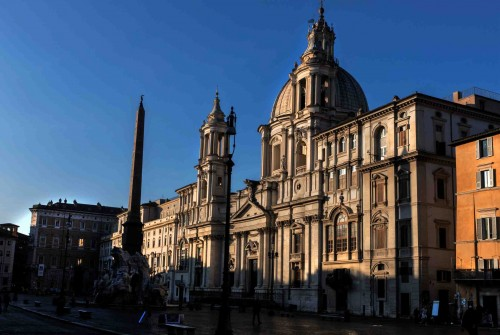 Church of Sant'Agnese in Agone, Piazza Navona