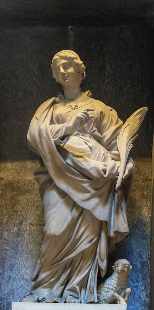 Saint Agnes, Vinzenzo Felici, Pantheon