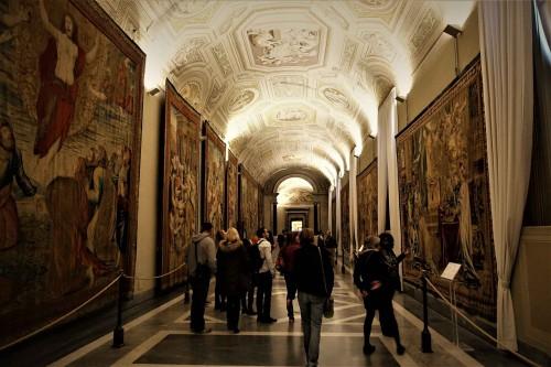Gobeliny z Papieskiej Manufaktury Tkackiej założonej przez Francesco Barberiniego, Musei Vaticani