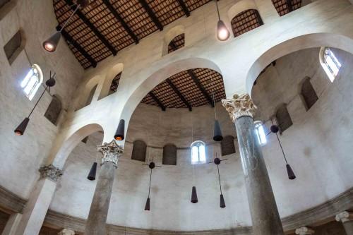 San Stefano Rotondo, sklepienie świątyni