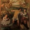 San Stefano Rotondo, fresk ze sceną męczeństwa św. Łucji, św. Eufemii i innych, Pomarancio