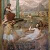 San Stefano Rotondo, fresk ze sceną męczeństwa św. Wawrzyńca, Pomarancio