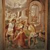 San Stefano Rotondo, fresk ze sceną ukamienowania św. Szczepana, Pomarancio