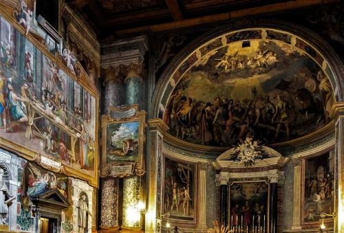 San Vitale, lewy transept kościoła, Męczeństwo św. Witalisa