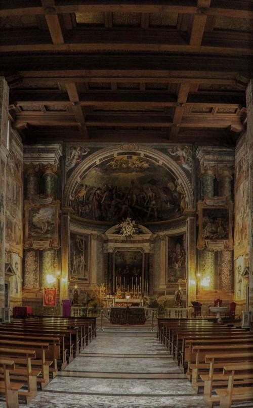 San Vitale, church interior