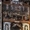 San Vitale, dekoracja transeptu kościoła - Męczeństwo św. Witalisa, Agostino Ciampelli