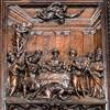 San Vitale, jeden z paneli z drzwi wejściowych