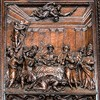 Church of San Vitale, one of the panels of the enterance door