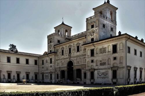 Garden façade of the casino built by Ferdinando de Medici, Pincio