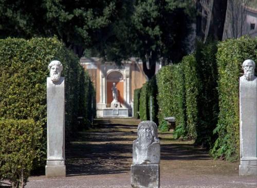 Park arrangements, Villa Medici