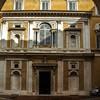 Dziedziniec Palazzo Firenze w Rzymie, miejska siedziba kardynała Ferdinanda de Medici