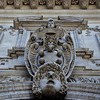 Coat of arms of the de Medici family on the façade of the de Medici casino, Villa Medici