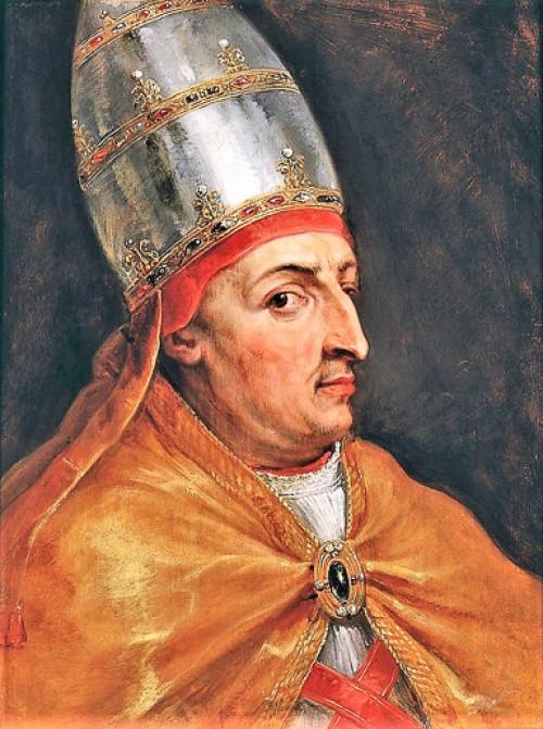 Portret papieża Mikołaja V, Peter Paul Rubens, zdj. WIKIPEDIA