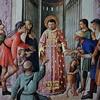 Kaplica papieża Mikołaja V, św. Wawrzyniec rozdający biednym i chorym skarby kościelne, Fra Angelico, pałac Apostolski