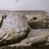 Sarkofag papieża Mikołaja V, Groty Watykańskie, fragment, bazylika San Pietro in Vaticano