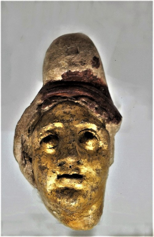 Mithra or Isis, object found in the underground of the Church of San Stefano Rotondo, Museo Nazionale Romano, Palazzo Massimo alle Terme