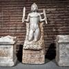 Ołtarze i statua z sanktuarium w podziemiach kościoła San Stefano Rotondo, Museo Nazionale Romano, Palazzo Massimo alle Terme