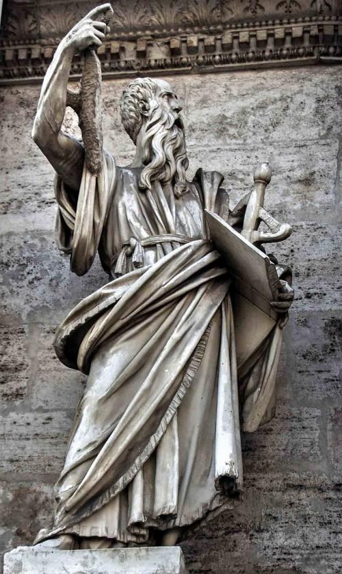 Francesco Mochi, św. Paweł, dekoracja bramy Porta del Popolo