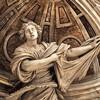 Francesco Mochi, posąg św. Weroniki, fragment, bazylika San Pietro in Vaticano