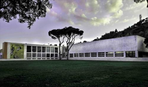 Luigi Moretti, Accademia della Scherma, Foro Italico