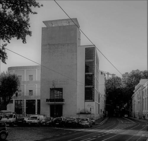 Luigi Moretti, Casa del Balilla, Largo  Ascianghi 5, Trastevere