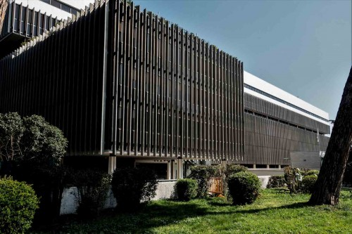 Luigi Moretti, one of the office buildings, Piazzale dell'Agricoltura, EUR