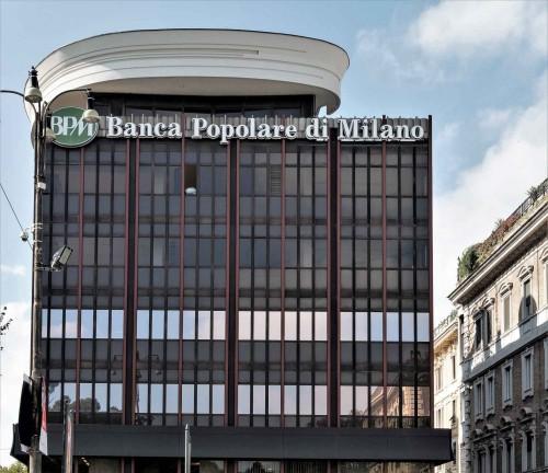 Luigi Moretti, Palazzo della Banca Popolare di Milano, Piazzale Flaminio